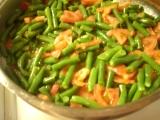 Fazolky s rajčaty recept