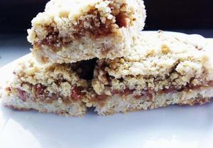 Jednoduchý drobenkový jablečný koláč  výborný