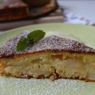 Francouzský hruškový koláč s polevou recept
