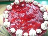 Jahodový dort nepečený recept