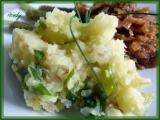 Máslové šťouchané brambory recept