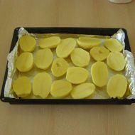 Zapečené brambory se slaninou a kuřecím masem recept