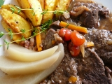 Srnčí maso po zámecku recept
