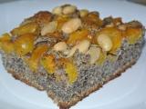 Maková buchta s mirabelkami recept
