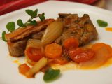 Jehněčí kotlety na rozmarýnu se zeleninou recept