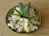 Salát z pekingského zelí se zakysanou smetanou recept ...