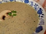 Žampionovo-pórková polévka recept