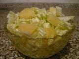 Pekingské zelí s ananasem recept