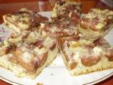Křehký koláč s ovocem a drobenkou recept