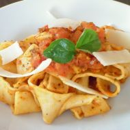 Pappardelle all Arrabbiata recept