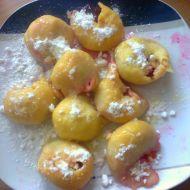 Švestkové knedlíky z bramborového těsta 1 recept