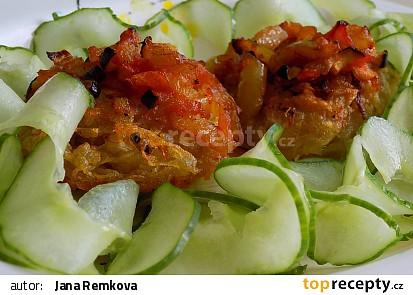 Bramborové placičky se zeleninou recept