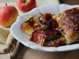 Podzimní kuře s jablky a šalvějí recept
