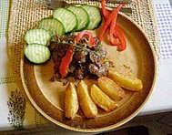 Restovaná játra s tymiánem recept