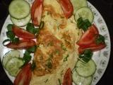 Lahodně plněná smetanová omeleta recept