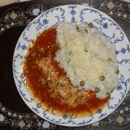 Mexický guláš s hráškem recept