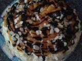 Bleskový nadýchaný dort s ovocem recept