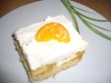 Džusový piškot s ovocem recept