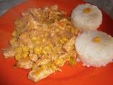 Kuřecí nudličky s pórkem recept
