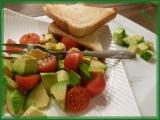 Avokádovo-rajčatový salát recept