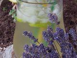Levandulovo-mátová limonáda s limetkou recept