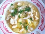 Květáková polévka s tofu recept