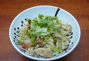 Rýžový salát s kuřecím