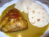 Pečená kuřecí stehna na kari recept