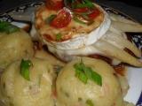 Kuřecí kapsa se sušenými rajčaty, zapečená se šunkou, chřestem a ...