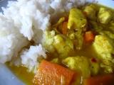 Kuřecí s kari-zázvorovou omáčkou recept