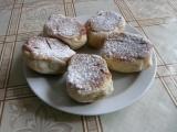 Kynuté buchty s ovocem recept
