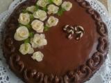 Čokoládový dort s Ganache recept