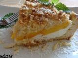 Broskvový koláč s kokosovo-mandlovým tvarohem recept ...
