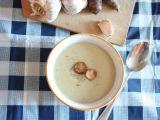 Krémová česnečka s topinambury recept