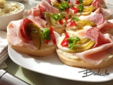 Bramborový salát na chlebíčky recept