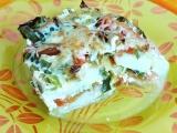 Zapečené kedlubny s pórkem a mozzarellou recept