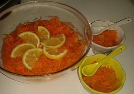 Mrkvový salát s kompotovanou dýní recept
