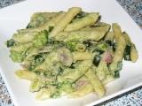 Špagety s brokolicovým krémem recept