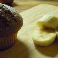 Banánovo-oříškové muffiny s nutellou recept