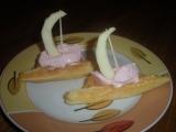 Vaflové lodičky recept