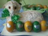 Velikonoční mramorový beránek (bábovka) recept