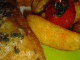 Okoun nilský s bylinkovým máslem recept