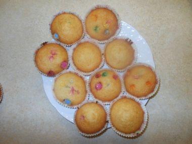 Lentilkové muffiny