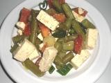 Salát ze zelených fazolek recept