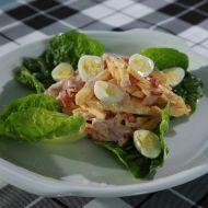 Salát se sýrem a šunkou recept