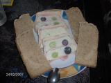 Sýrový chlebíček s hroznovým vínem recept