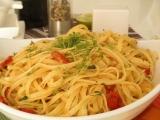 Špagety aglio e olio recept