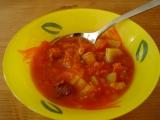 Ostřejší zeleninové lečo recept