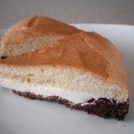 Tříbarevný tvarohový koláč recept