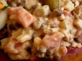 Výborný čočkový salát recept